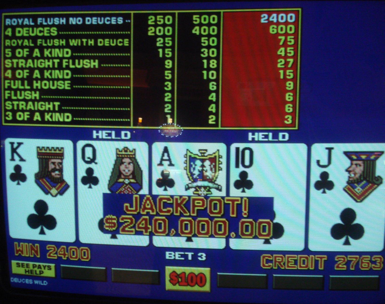 10 play video poker machine