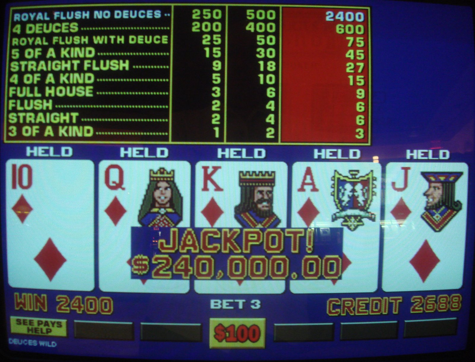 100 play free video poker harrahs